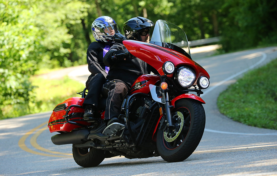 VStar 1300 Deluxe – 24,000milesWhat do you love most about touring on your Star?The comfort, easy power and the LOOK!