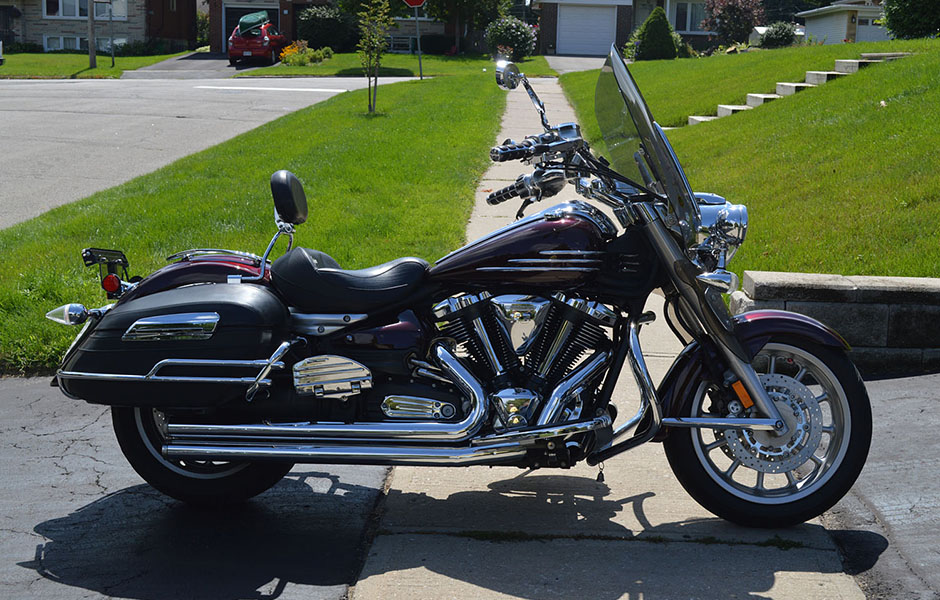 Roadliner – 43,000 milesWhat do you love most about touring on your Star? Comfort, style, power, handling.  Note I have done cross-continent riding and have had published two feature articles on trips to Sturgis and Route 66.