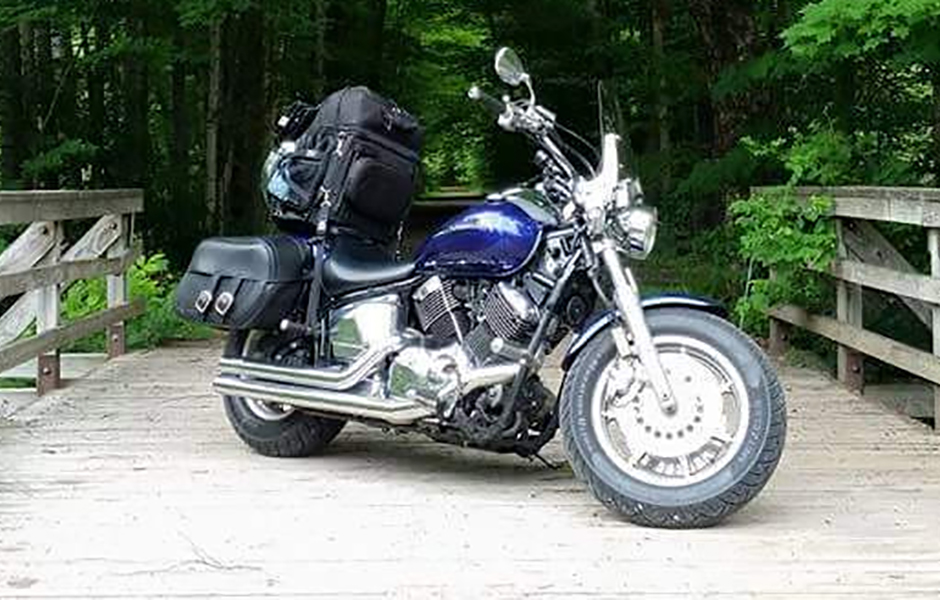 V Star 1100 Custom – 27,000 milesWhat do you love most about touring on your Star? Knowing that it will always be there for you.
