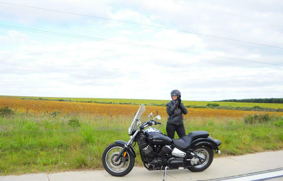 V Star 1100 Custom – 15,000 milesWhat do you love most about touring on your Star? Be part of the scenery.