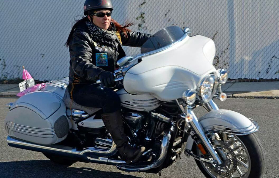 "Roadliner – 16,000 milesWhat do you love most about touring on your Star? I have been the President of the Brooklyn NY Chapter #265 of Star Touring & Riding for 14 years and what I love most is riding and touring with my extended family and taking in everything that I do with them. Me and my ""Fat Bottom Girl"" have been to so many places and met so many wonderful people both with my chapter and solo or riding with just my husband while he's on his Roadstar. My Roadliner has started more conversations that I can recall. The camaraderie can't be beat and when you see a group of Star's in unison, it is beyond pretty!"
