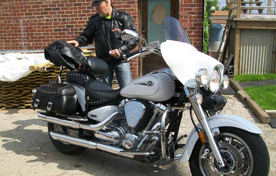 "2006 – 73,000 miles2007 – 15,000 milesWhat do you love most about touring on your Star? We love the reliability and power.  We often have folks mistakenly think that the '06 is a HD, which we QUICKLY and PROUDLY correct. Our ""girls"" never fail to deliver!!!!"