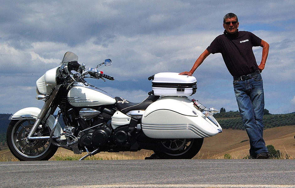 Stratoliner – 120,000 milesWhat do you love most about touring on your Star? That I can bring my bike from Switzerland to USA for a 3 months tour (37,000 miles) and meet a lot of very friendly Starbikers.
