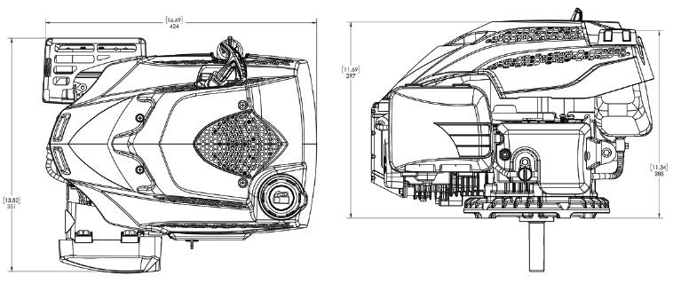 MA190V Dimensions