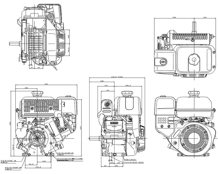 MX400/MX360 Dimensions