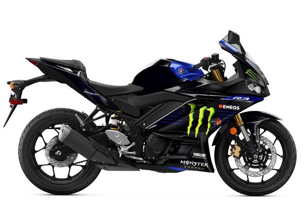 2021 YZF-R3 Monster Energy Yamaha MotoGP Edition