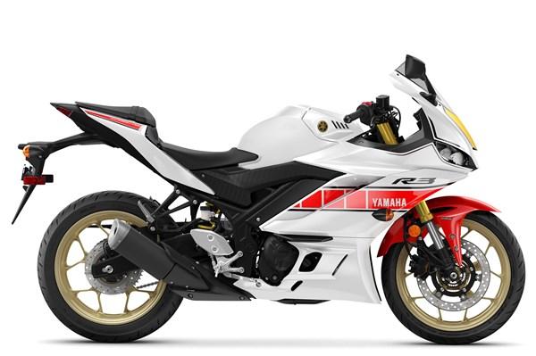 2022 YZF-R3 World GP 60th Anniversary Edition