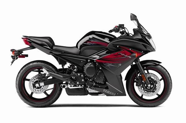 2012 Yamaha FZ6R - Studio Black