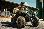 2017 Yamaha Grizzly EPS - Action Green