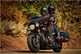 2017 Yamaha V Star 1300 Deluxe - Action Black