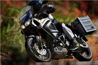2017 Yamaha Super Ténéré - Action Brown