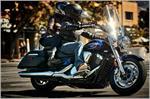 2017 Yamaha V Star 1300 Tourer - Action Blue
