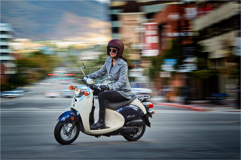 2017 Yamaha Vino Classic Scooter Motorcycle - Model Home