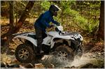 2018 Yamaha Grizzly EPS - Action White