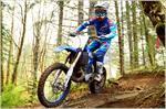 2018 Yamaha YZ250X - Action Blue
