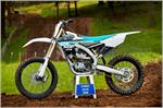 2018 Yamaha YZ250F - Beauty White