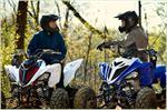 2018 Yamaha Raptor 700R - Lifestyle Blue