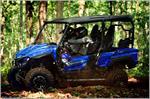 2018 Yamaha Wolverine X4 - Action Blue
