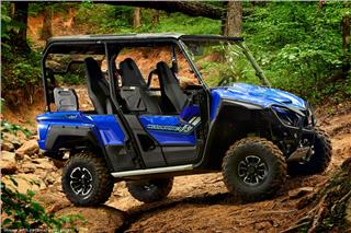 2018 Yamaha Wolverine X4 - Beauty Blue