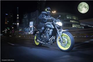 2018 Yamaha MT-07 - Action