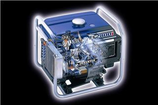 2007 Yamaha EF2800i - Detail Blue