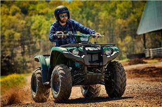 2019 Yamaha Kodiak 450 EPS - Action Green
