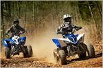 2019 Yamaha Raptor 90 - Action Blue