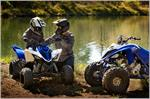 2019 Yamaha Raptor 90 - Lifestyle Blue