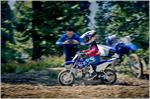 2019 Yamaha TT-R50E - Action
