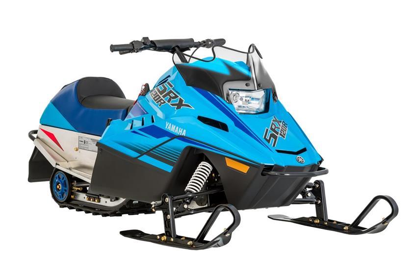 2020 Yamaha SRX120R Youth Snowmobile - Model Home