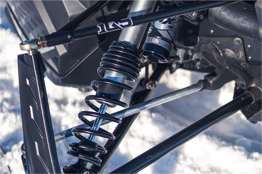 2020 Yamaha Sidewinder SRX LE Trail Snowmobile - Model Home