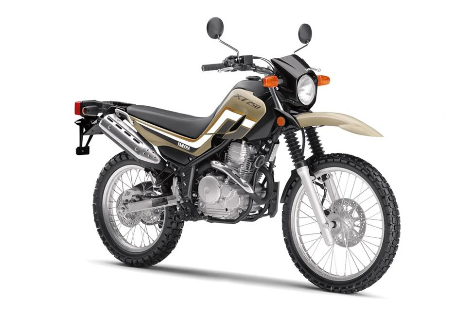 2020 Yamaha Xt250 Dual Sport Motorcycle Model Home