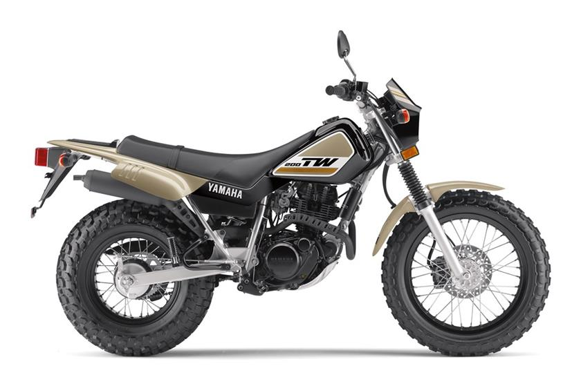 2020 Yamaha TW200 Dual Sport Motorcycle - Model Home