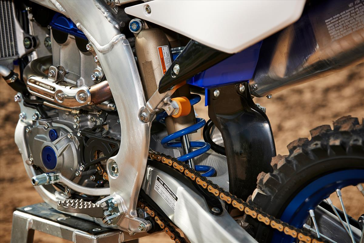 2020 Yamaha YZ250F - Detail Blue