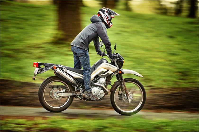 2020 Yamaha XT250 Dual Sport Motorcycle - Model Home on