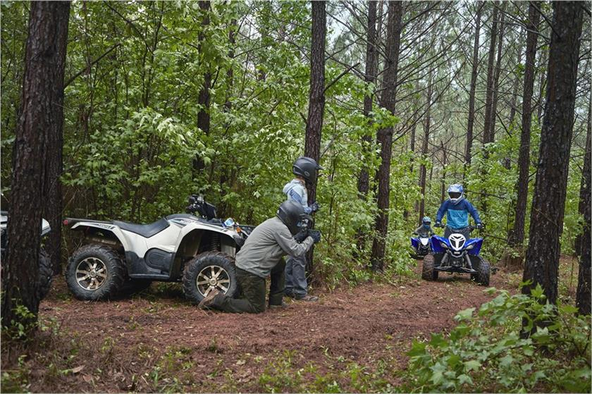 2020 Yamaha Raptor 90 Sport ATV - Model Home
