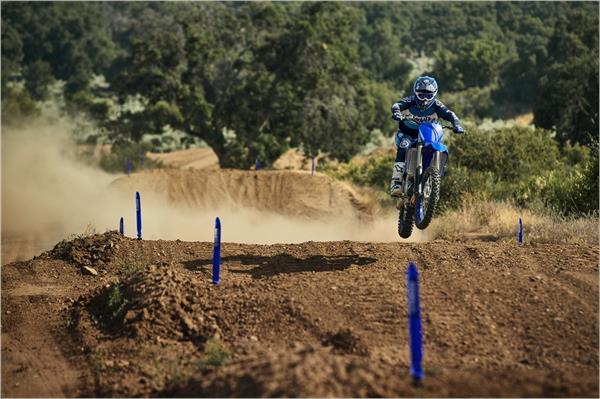 2021 Yamaha YZ450F - Action Blue