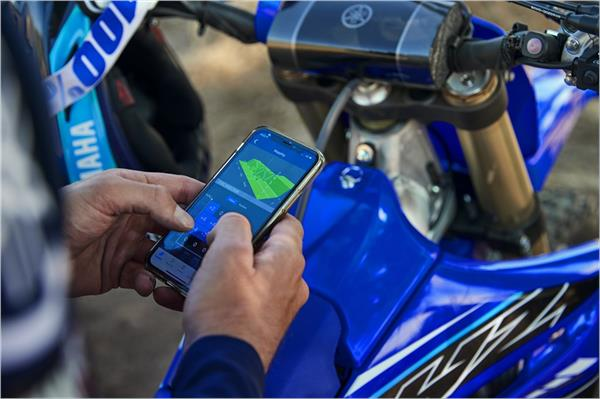 2021 Yamaha YZ450F - Beauty Blue