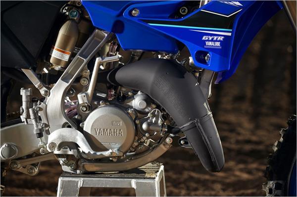2021 Yamaha YZ125 - Detail Blue