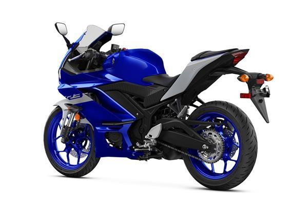 2021 Yamaha YZF-R3 - Studio Blue