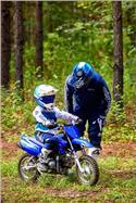 2022 Yamaha TT-R50E - Beauty Blue